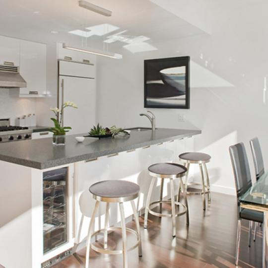 261 West 28th Street Kitchen Area – NYC Condos for Sale