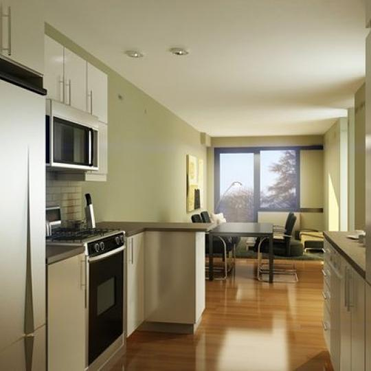 The Vetro New Construction Building Kitchen - NYC Condos