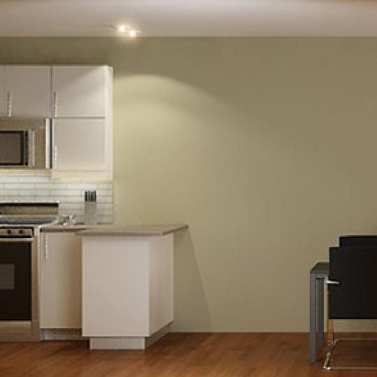 107 East 31st Street Kitchen and Dining Area - Manhattan New Condos