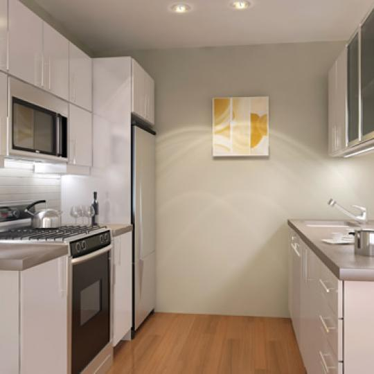 The Vetro Kitchen - 107 East 31st Street Condos for Sale