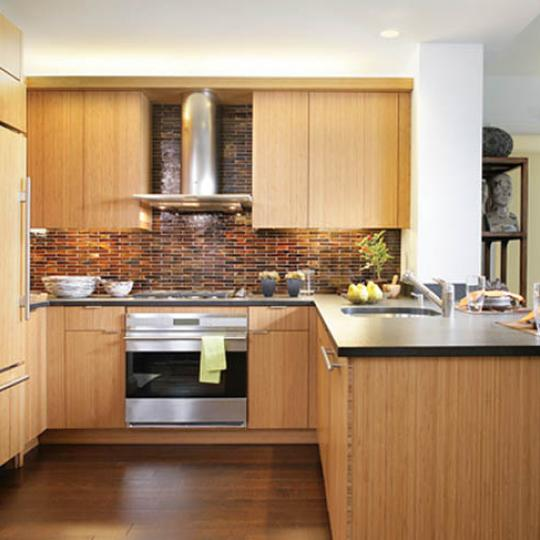 The Visionaire Kitchen - Battery Park City NYC Condominiums