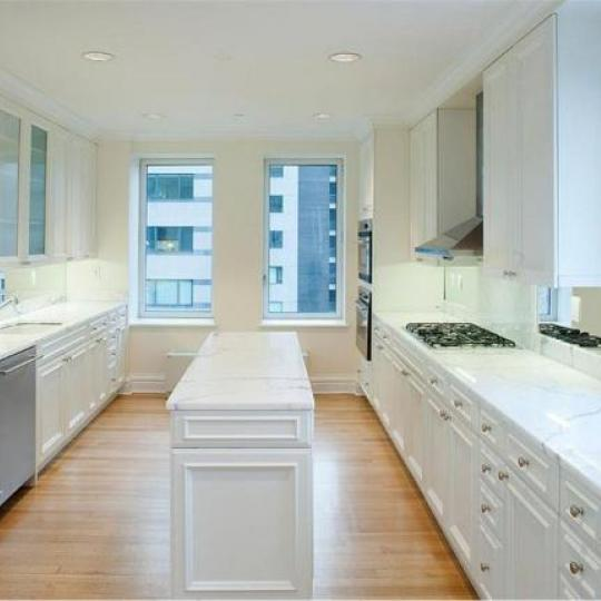 Trump Park Avenue Kitchen - Condominiums for Sale NYC