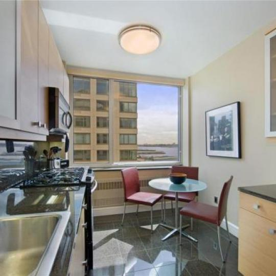 Trump Place Kitchen - Condominiums for Sale NYC