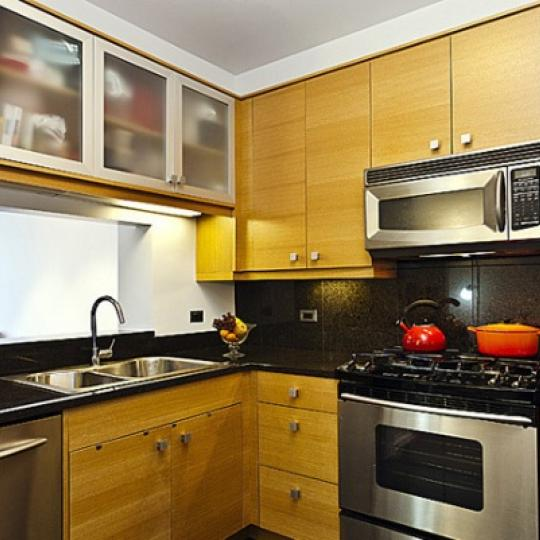 Trump Place Kitchen - New Condos for Sale NYC