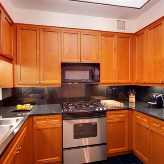 220 Riverside Boulevard Manhattan - Kitchen at Trump Place