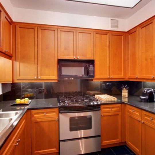 220 Riverside Boulevard Manhattan - Kitchen at Trump Place