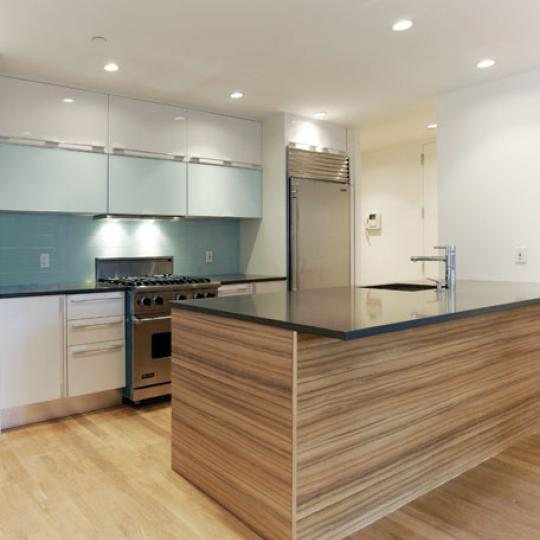 Windows On 123 Kitchen - Manhattan Condos for Sale