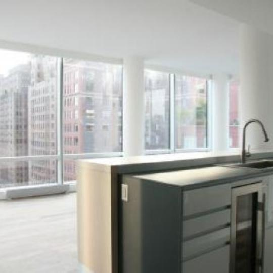 166 West 18th Street Kitchen Area – Manhattan New Condos