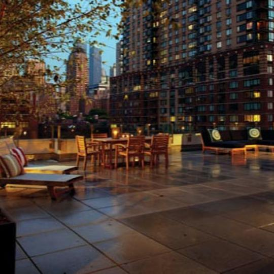 The Rushmore New Construction Building Landscaped Sundeck - NYC Condos