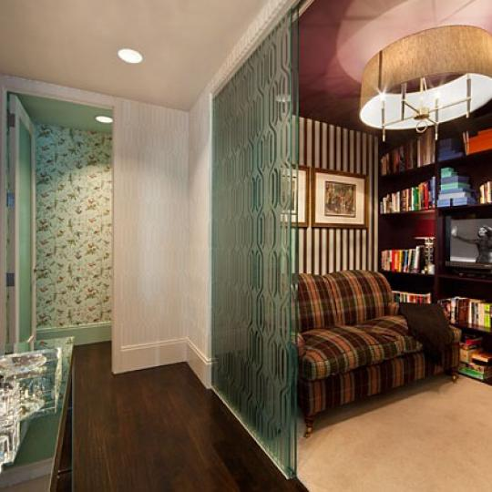 141 Fifth Avenue Condominiums - Penthouse Library