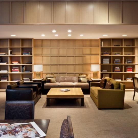 170 East End Avenue Library - Condominiums for Sale NYC