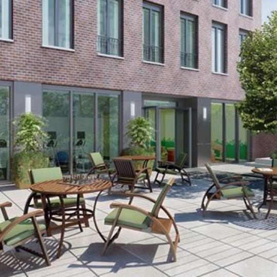 230 west 78th Street Garden - NYC Condos for Sale