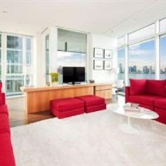 173 Perry Street Living Room - Manhattan Condos for Sale