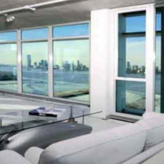 173 Perry Street New Construction Building Living Room - NYC Condos