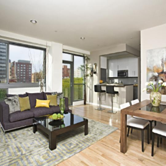 38 Delancey Street Living Room – Manhattan Condos for Sale