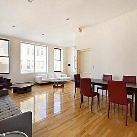 56 East 13th Street Living Room – Greenwich Village NYC Condominiums