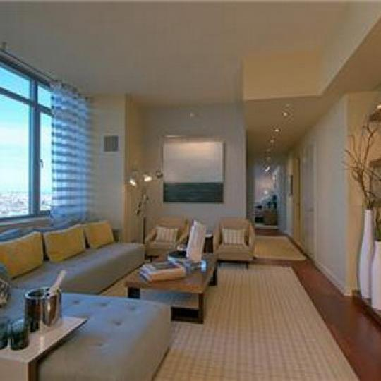 1485 Fifth Avenue NYC Condos – Living Room at 5th on the Park
