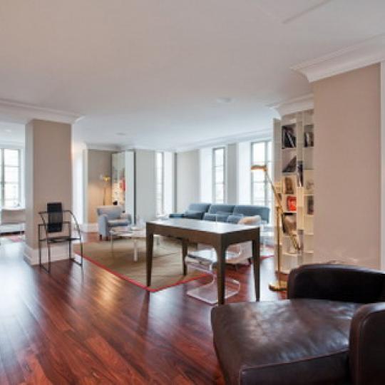 140 East 63rd Street New Construction Condominium Living Room