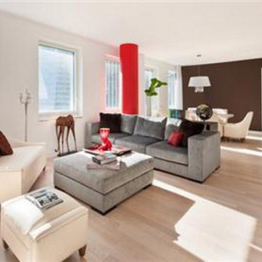 Cassa NYC Living Room - 70 West 45th Street Condos for Sale