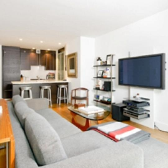 Chatham 44 Living Room – Manhattan Condos for Sale