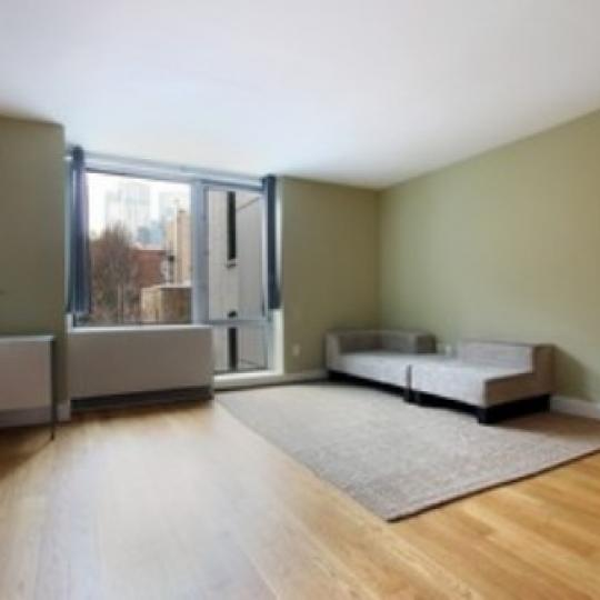 Chatham 44 New Construction Building Living Room – NYC Condos