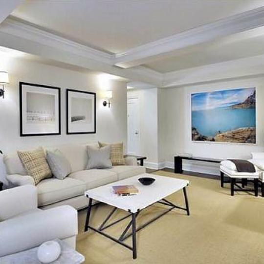 28 East 10th Street Living Room – NYC Condos for Sale