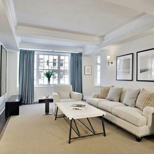 Devonshire House New Construction Building Living Room – NYC Condos