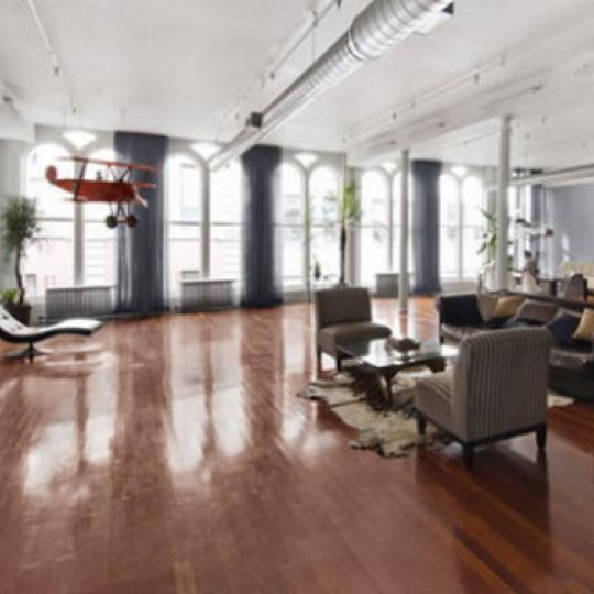 Diamond on Duane Living Room – Manhattan Condos for Sale