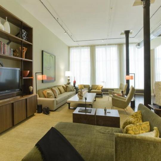 137 Duane Street Living Room – NYC Condos for Sale