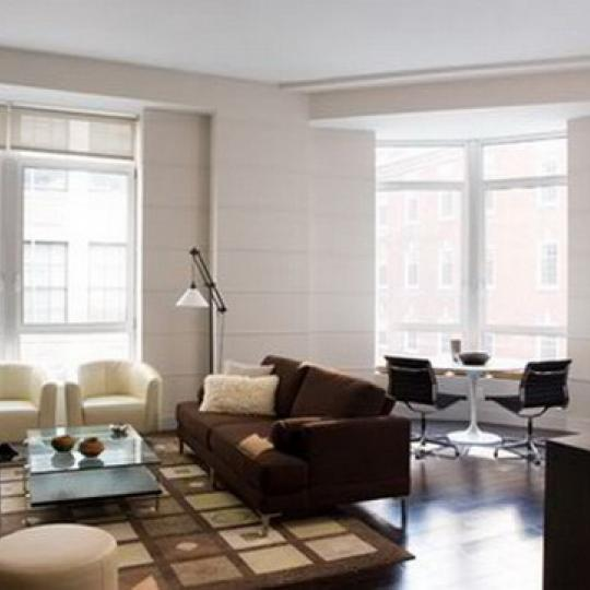 District Living Room - 111 Fulton Street Condos for Sale