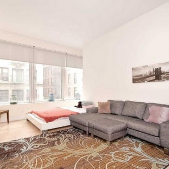 District Condominiums – Living Room
