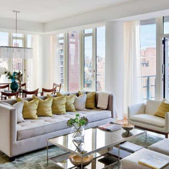 Georgica Living Room – Condominiums for Sale NYC