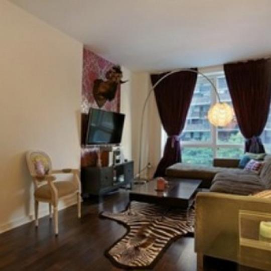 Gramercy Starck Condominiums – Living Room