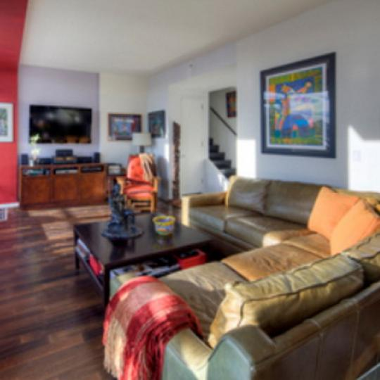 Gramercy Starck Living Room – Condominiums for Sale NYC