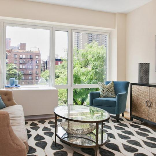 800 Tenth Avenue New Construction Condominium Living Room