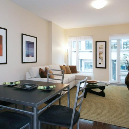 303 East 77th Street Living Room - NYC Condos for Sale