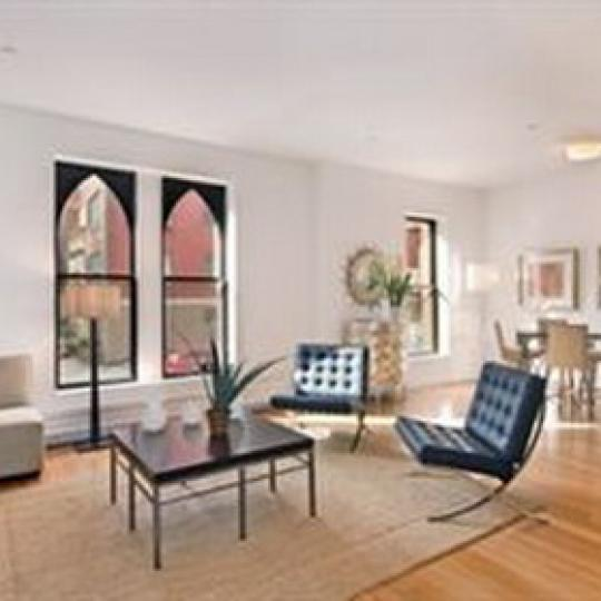 233 East 17th Street Living Room - NYC Condos for Sale