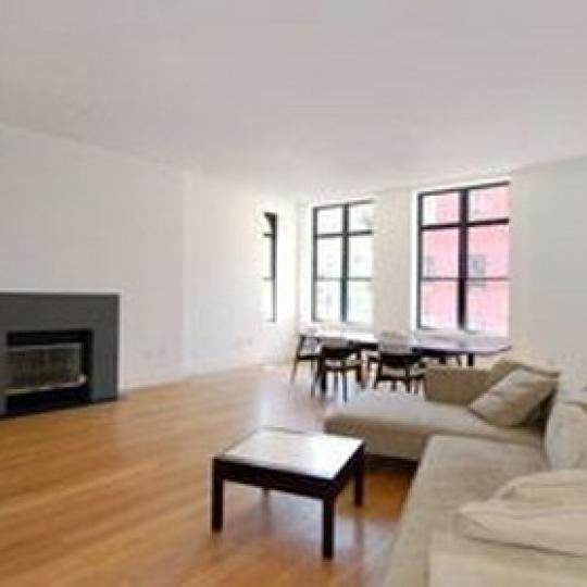 Landmark 17 Living Room - 233 East 17th Street Condos for Sale