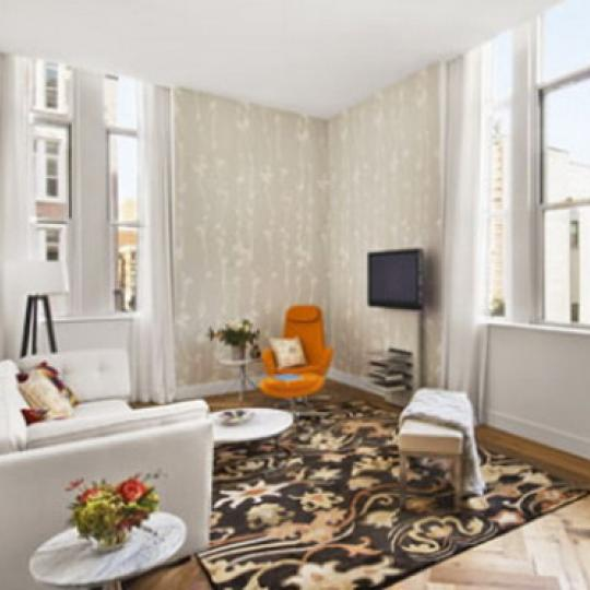 PS90 Condominiums – Living Room