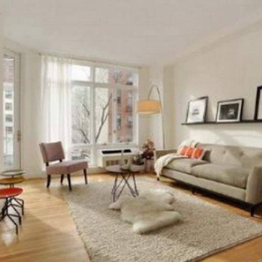 333 East 109th Street Living Room – Manhattan New Condos