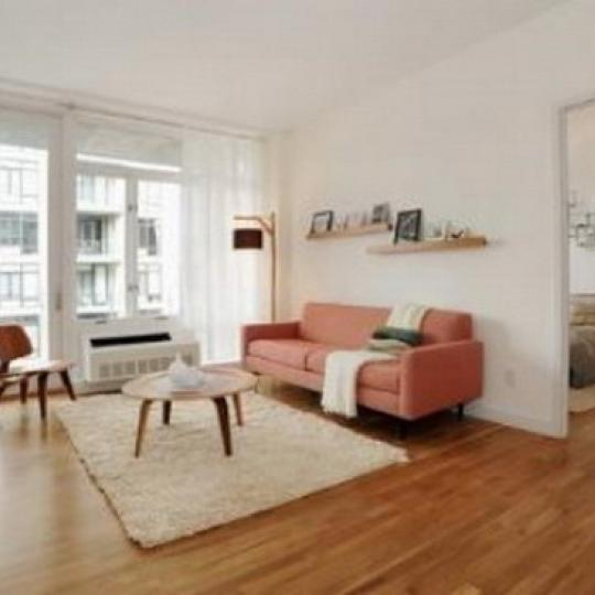 Pascal Living Room - 333 East 109th Street Condos for Sale
