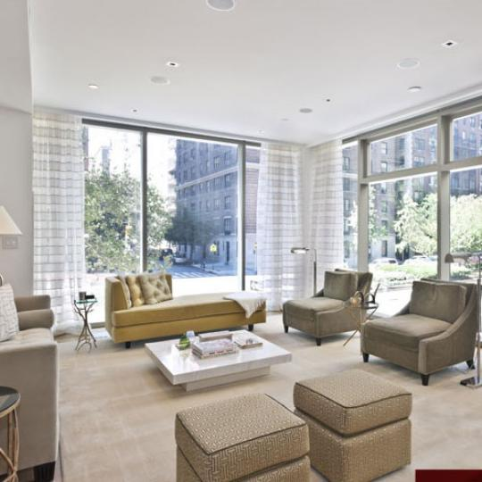 1055 Park Avenue New Construction Building Sitting Area - NYC Condos