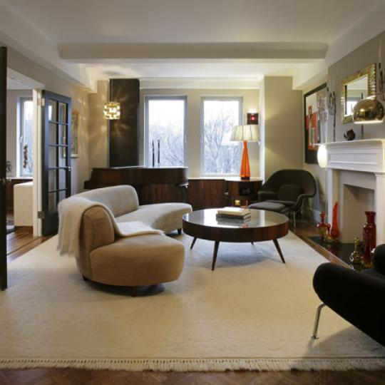 1200 Fifth Avenue Living Room - Upper East Side NYC Condominiums