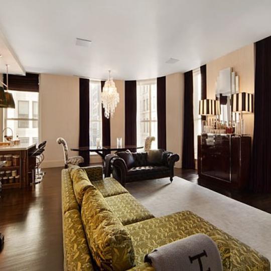 141 Fifth Avenue Living Room - Manhattan Condos
