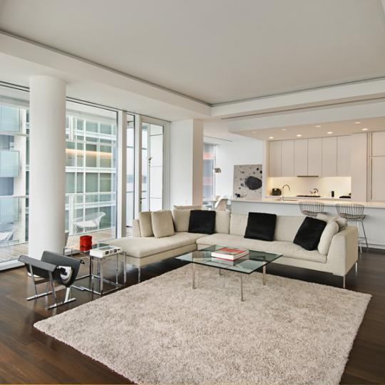 165 Charles Street Condominium Building Open Kitchen - NYC Condos