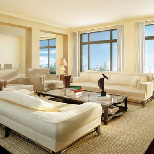 180 East 93rd Street Living Room - NYC Condos for Sale