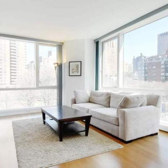 200 Chambers Street Sitting Area - Manhattan New Condos