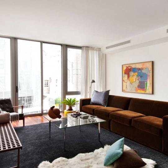 208 West 96th Street Living Room - NYC Condos for Sale