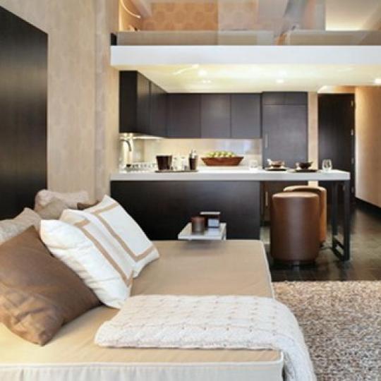 254 Park Avenue South New Construction Building Living Room – NYC Condos