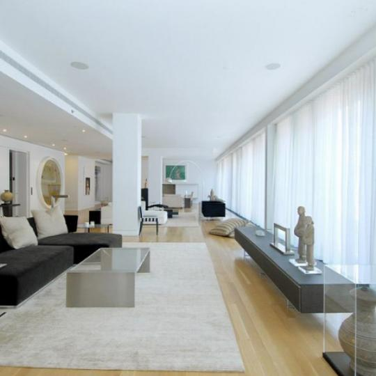25 Bond Street New Construction Building Living Room – NYC Condos